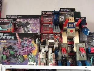 Collection de Transformers de Gérard.