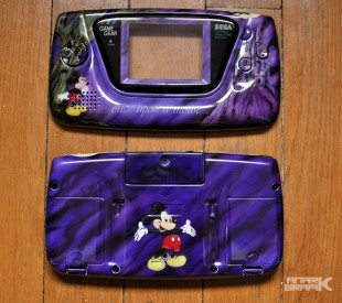 Game Gear Custom Mickey Castle of Illusion by Anark Grafik