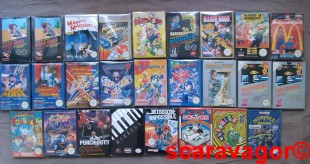 Le Full Set NES : by Scaravagor !