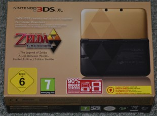 Nintendo 3DS XL : édition Zelda a link between worlds