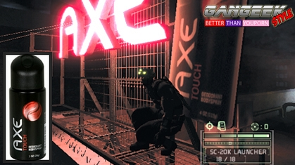 Axe Touch Splinter Cell gangeekstyle