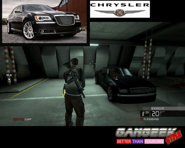 Chrysler Splinter Cell gangeekstyle