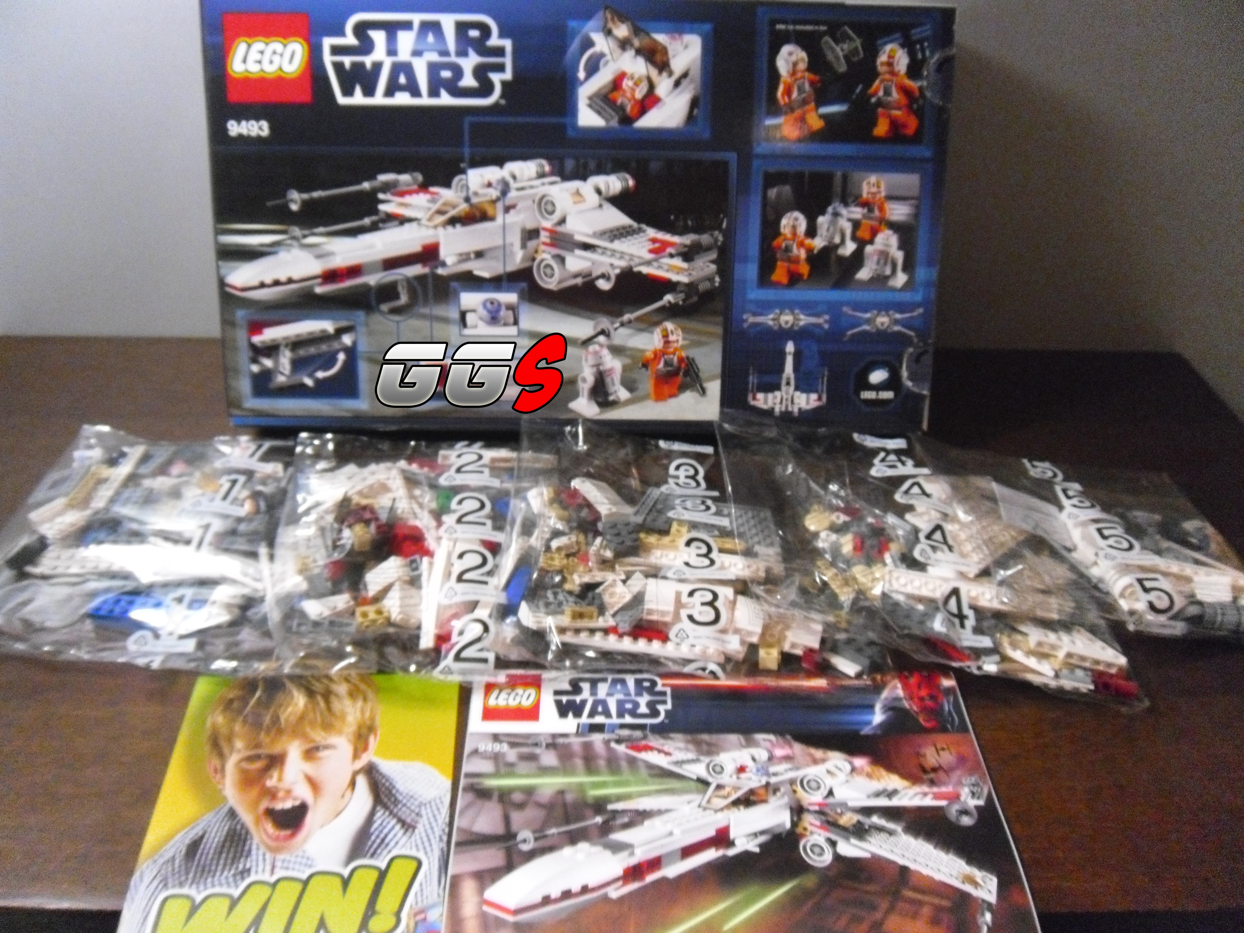 lego star wars x wing starfighter gangeek style. Black Bedroom Furniture Sets. Home Design Ideas