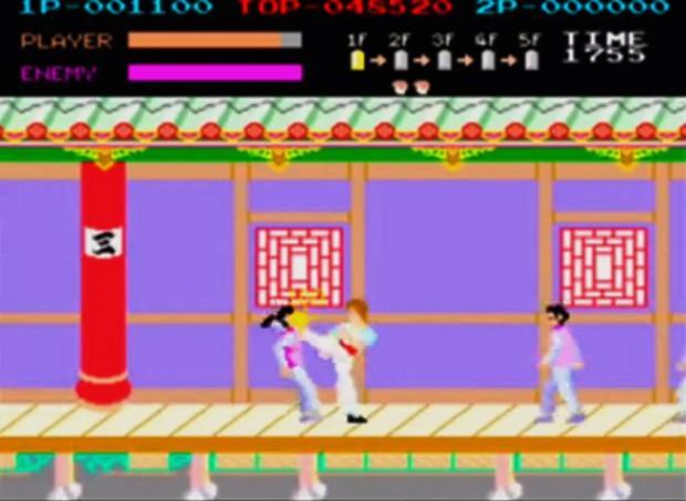 KungFu master arcade
