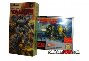Assault Suits Valken Cybernator Super Famicom