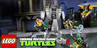 Lego Turtles: l'attaque du robot de Baxter