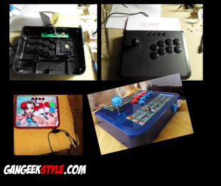 Fabriquer son arcade stick Mayflash Full Sanwa