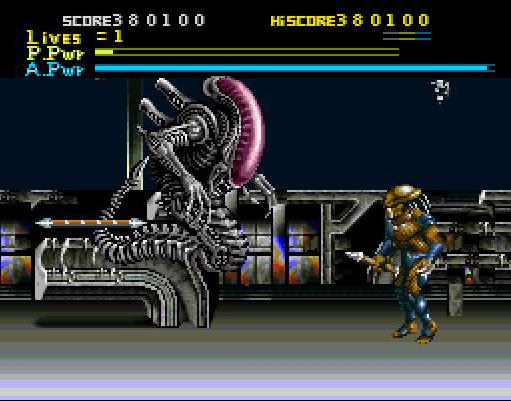 Alien VS Predator (Super Nintendo)12