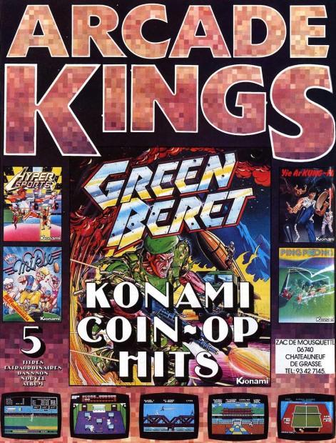 arcade king konami 1986