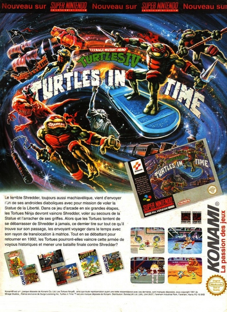 turtle in time