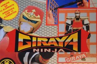 Giraya Ninja ! «Damned, ça colle !»