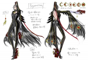 Bayonetta_body_sketches