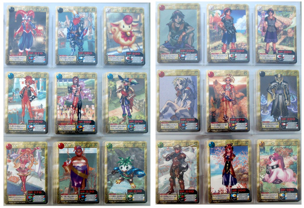 Chrono Cross Cards