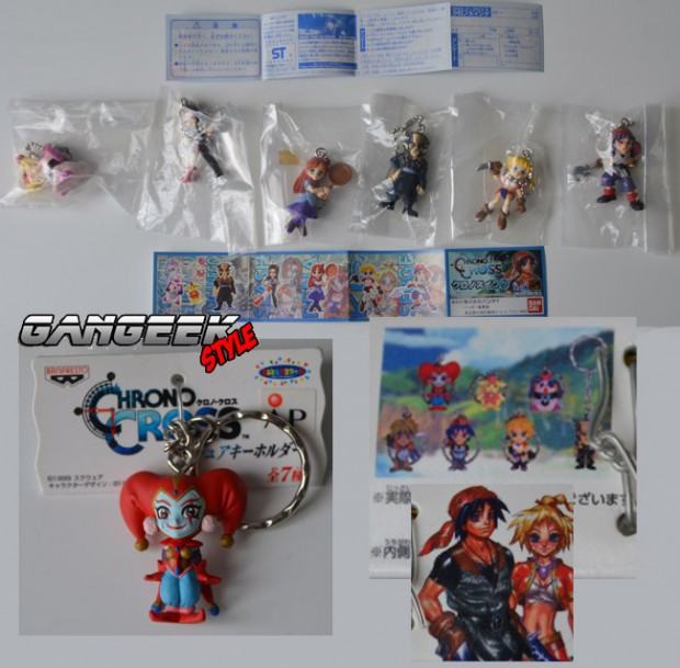 Chrono Cross Keychains