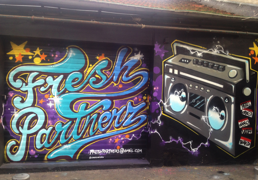 Le Graffiti Avec Freshpartnerz  Gangeek Style