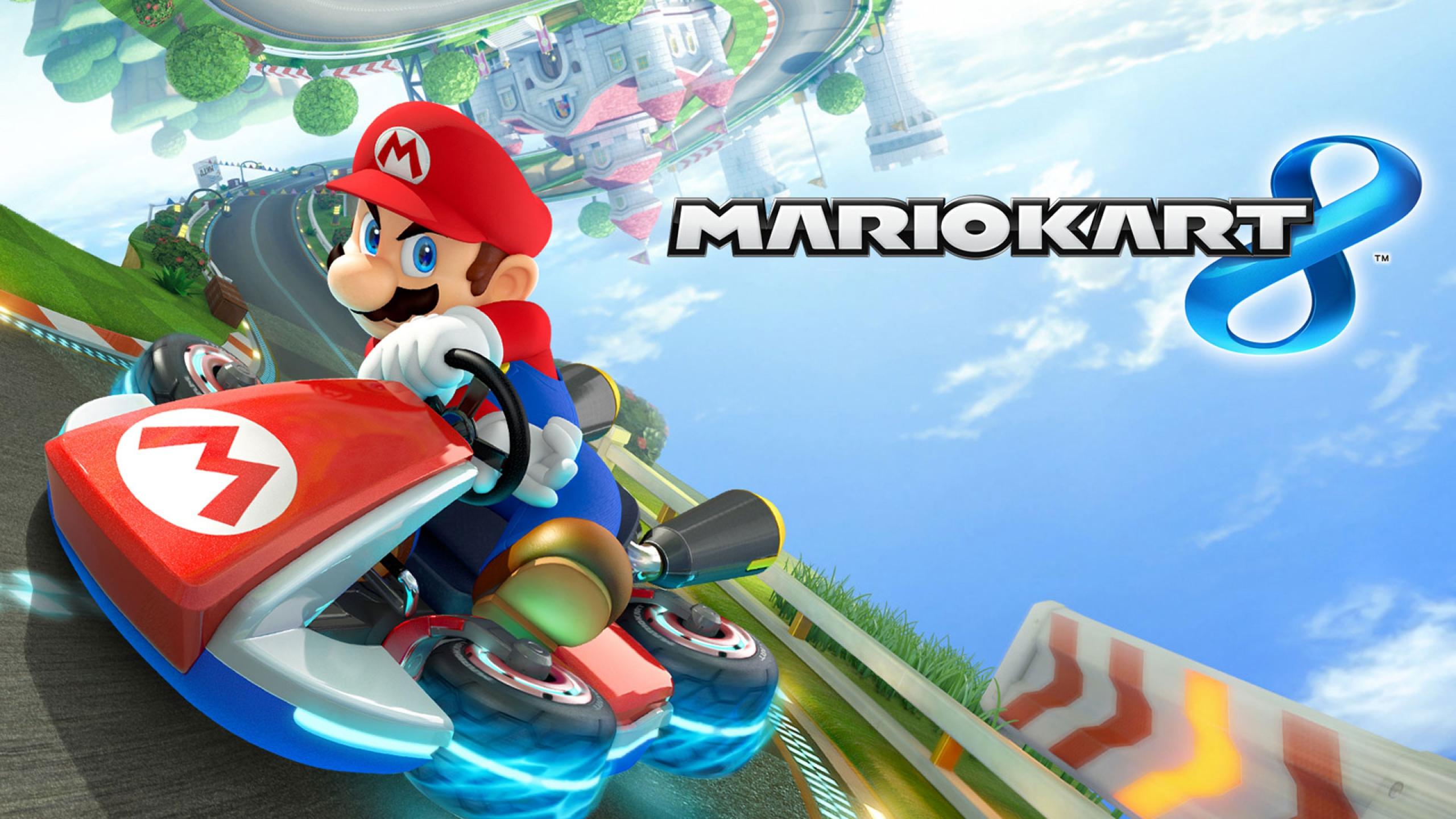 jeux de voiture mario kart 8