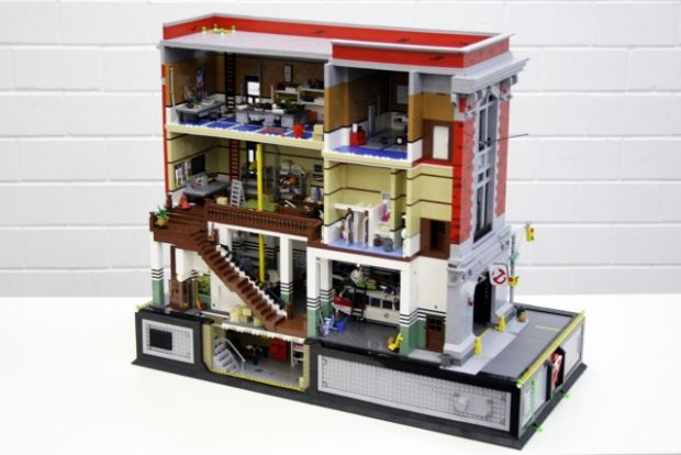 Lego S.O.S Fantômes / Ghostbusters - Gangeek Style