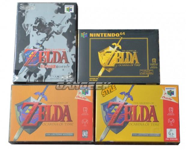Boites Zelda OOT