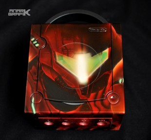 Game Cube custom Metroid Prime by Anark Grafik