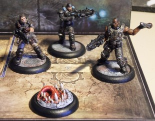 Gears of War : le Boardgame