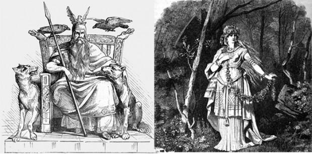 Odin - Freyja