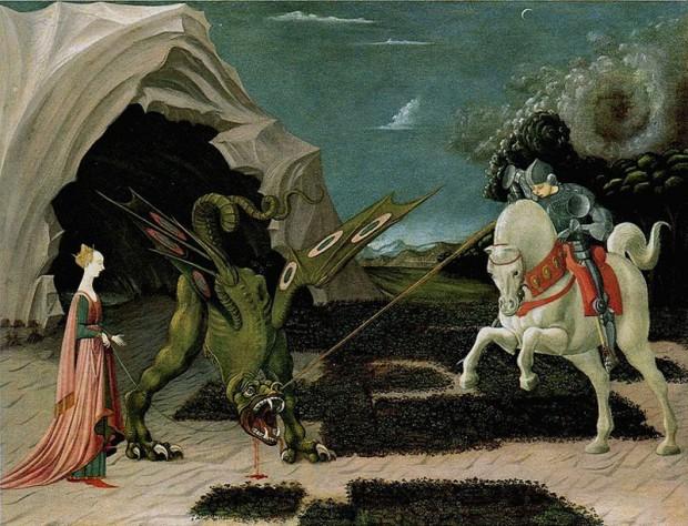 Paolo Uccello Dragon 1470