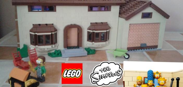 Lego Simpsons : la maison de ouf !
