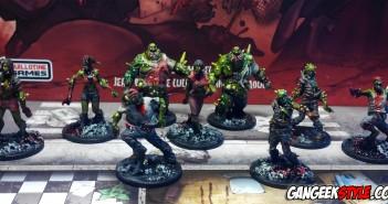 Zombicide : peindre les zombies rapidement!