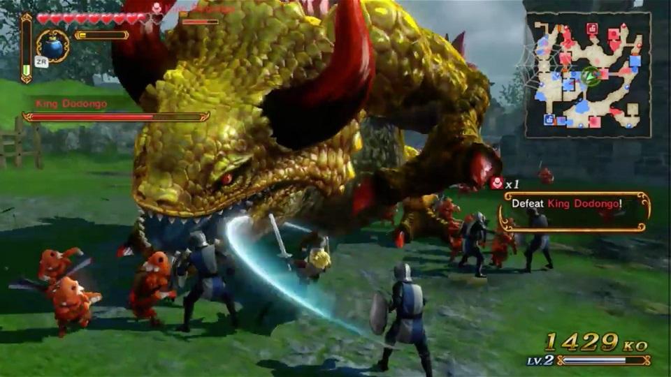 Hyrule-Warriors-Link-vs.-Dodongo