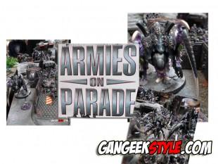TYRANIDES pour ARMIES ON PARADE!