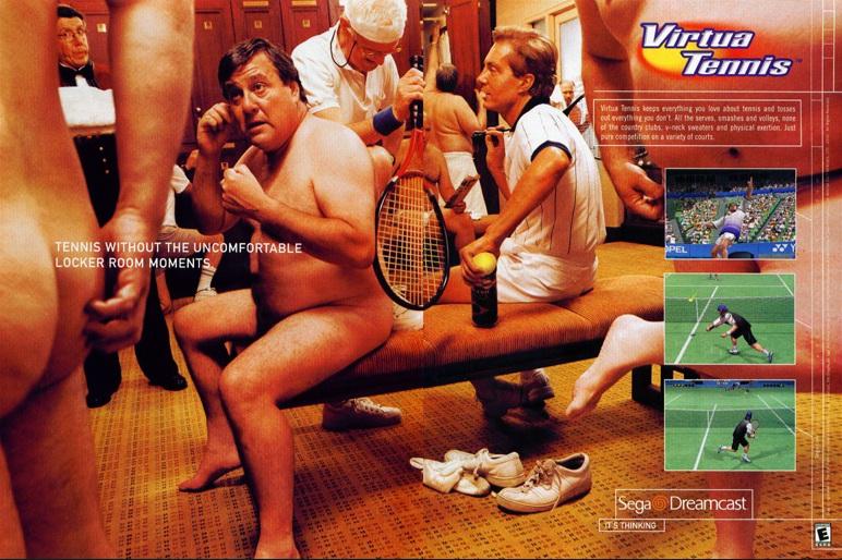 virtua tennis pub sega dreamcast - Gangeek Style