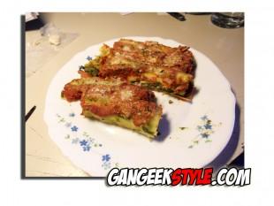 Manicotti à la Ricotta et aux épinards