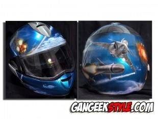 Casque moto personnalisé by Anark Grafik