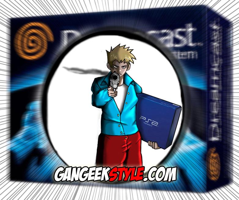 Sony achève Sega ! PS2 dreamcast