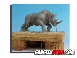 Le Dernier Rhinocéros Blanc