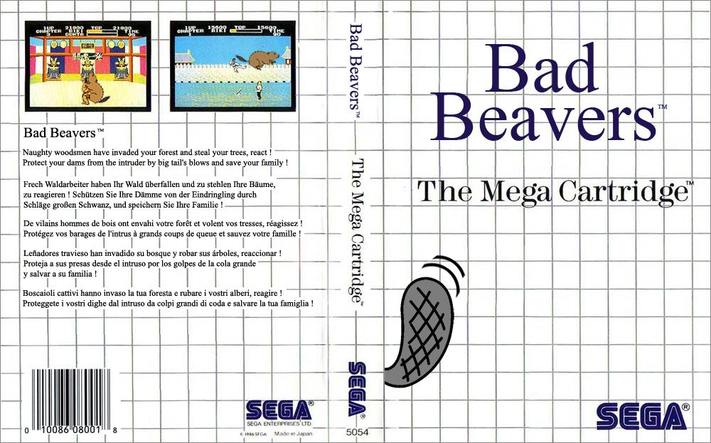 Master System - Bad Beavers 2
