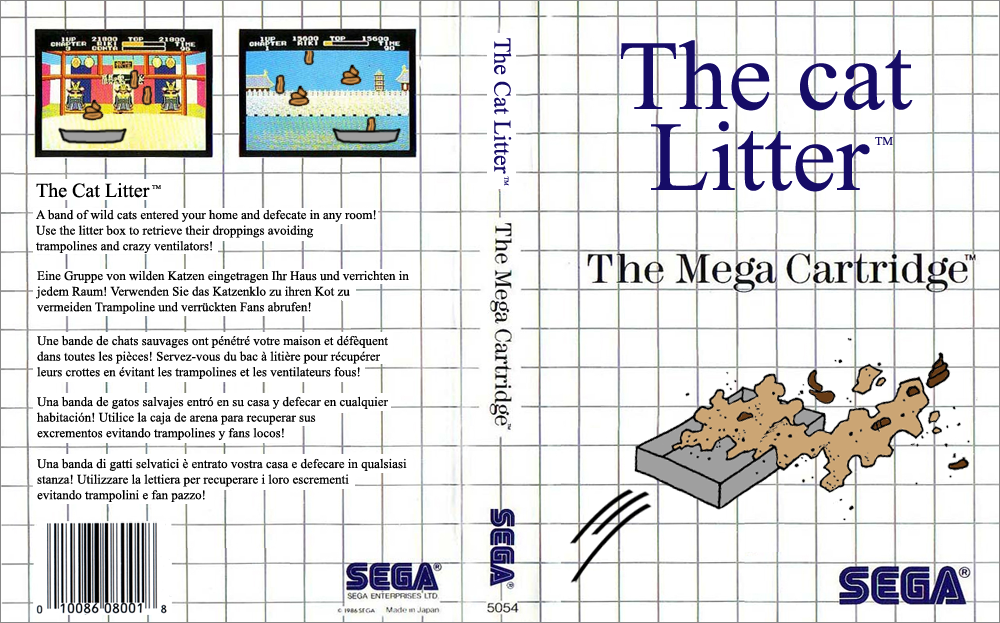 Master System - The Cat Litter 2