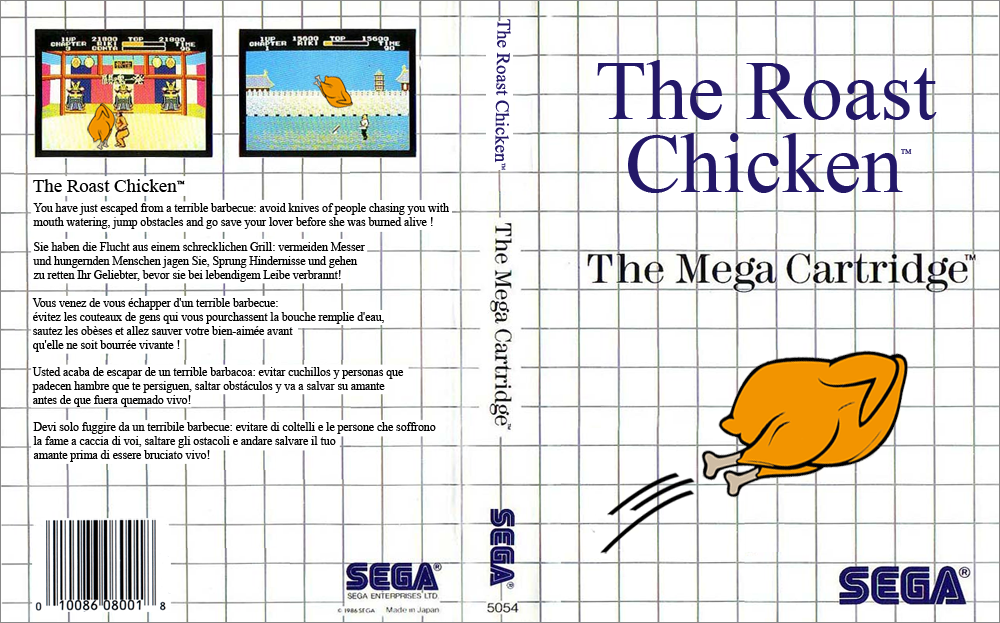 Master System - The Roast Chicken 5