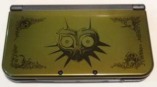 New 3DS XL Majora's Mask et Figurine Skull Kid