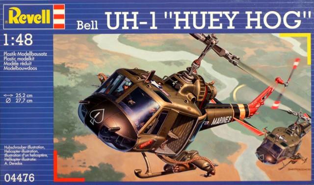 Revell-04476-UH-1-Huey-Hog
