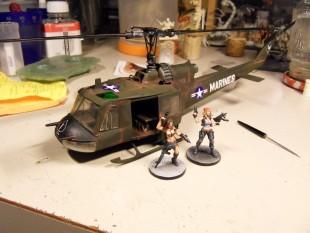 bell UH-1 «Huey Hog» 1/48e – Revell