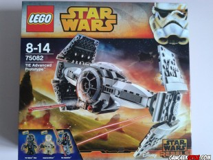 Lego Star Wars : TIE Advanced Prototype