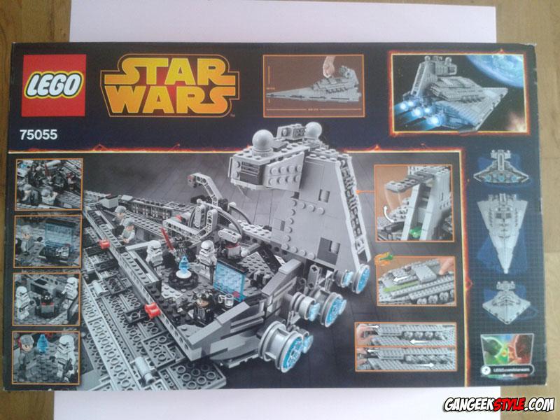 Lego star wars imperial star destroyer gangeek style - Vaisseau de dark vador ...