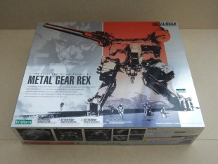 Unboxing : Metal Gear Rex 1/100e – Kotobukiya