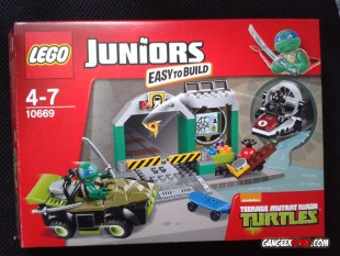 Lego Juniors : Teenage Mutant Ninja Turtles