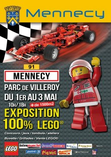 Expo 100% Lego à Mennecy 2015