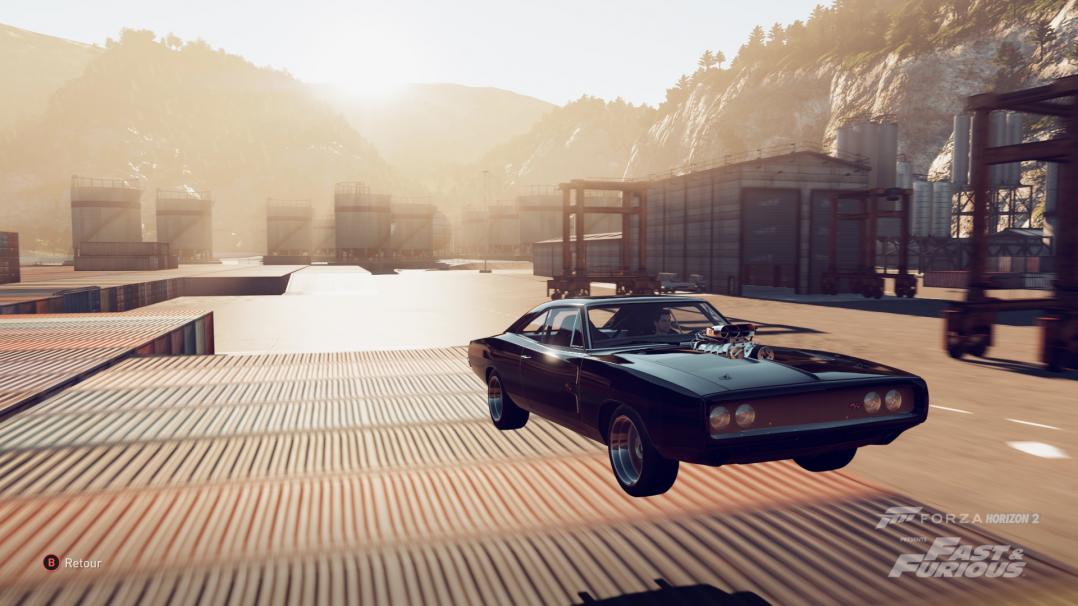 Ce stand alone vous permettra de vous prendre (un peu) pour Dom Toretto au volant de sa Charger.