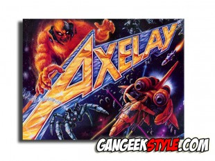 Axelay Super Nintendo