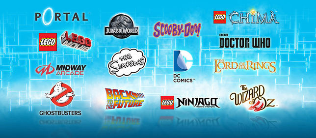 14 univers lego dimensions