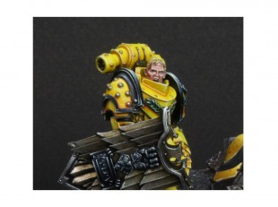 Les Space Marines de slave of paint